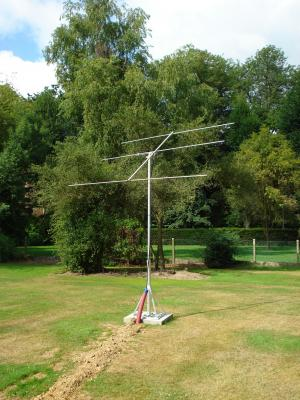 Simple Yagi antenna of BISA station